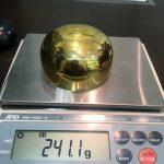 重さ241.1g!宝塚市のお客様より純金仏具おりんを高価買取!